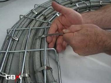 pince de cerclage pour collier d'installation