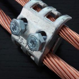 raccords à griffes acier électrozingué
