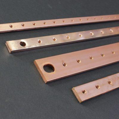 Barres cuivre taraudées