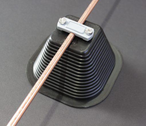 Plot béton pour rond de cuivre protection foudre