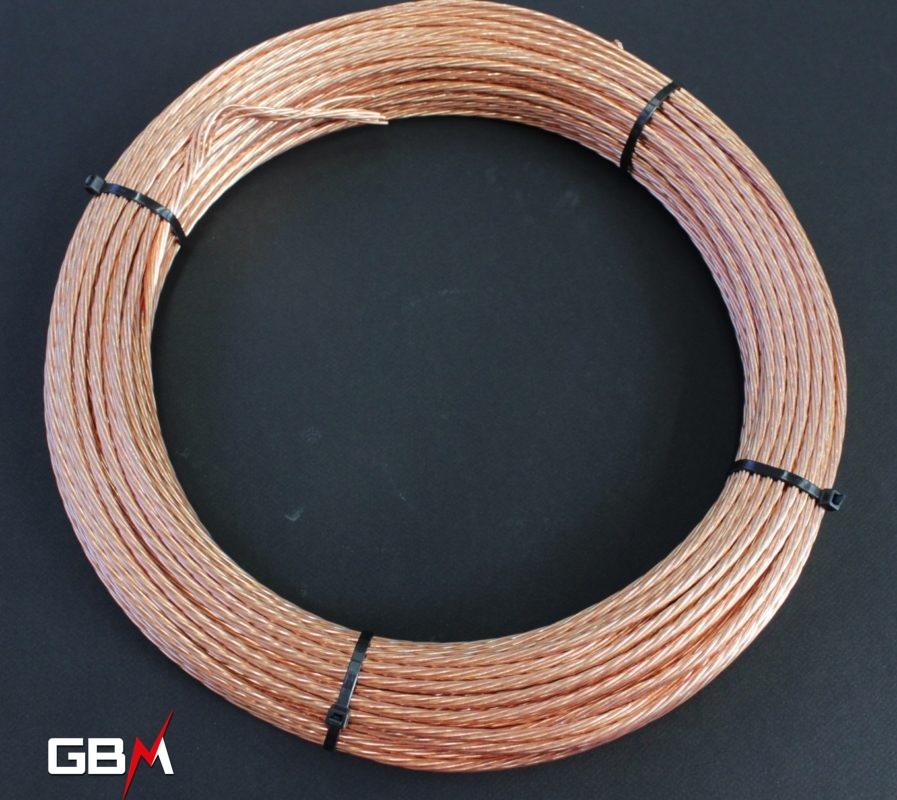 Câblette de terre ou cuivre nu