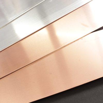 Bande bimétalliques cuivre/aluminium