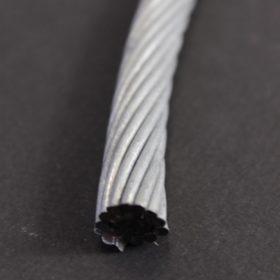 Câble de mise à la terre en acier galvanisé