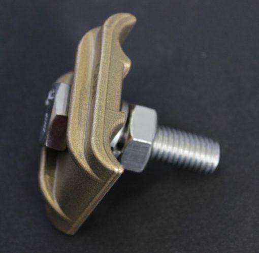 Sabot de terre simple pour charpente métallique