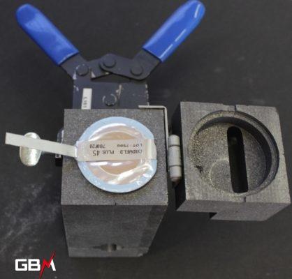 Soudure aluminothermique type CADWELD