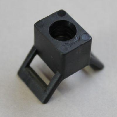 Embases à vis pour colliers d'installation 9mm