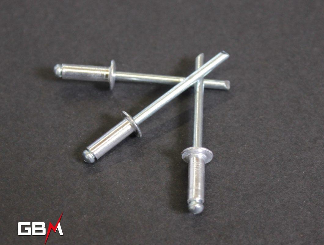 Rivet pour clip Inox 30x2