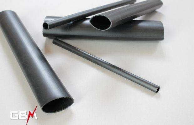 tube thermorétractable à paroi épaisse diamètre de 3 à 350 mm