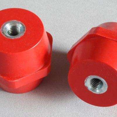 Isolateurs basse tension M10 hauteur 50mm