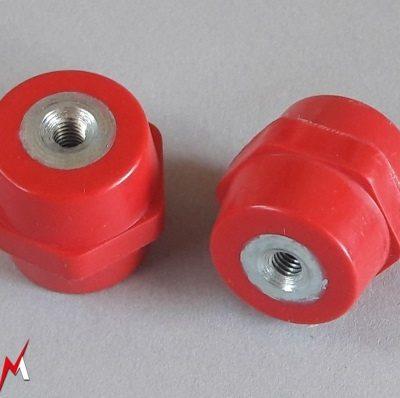 Isolateurs electrique basse et moyenne tension M6 hauteur 30mm