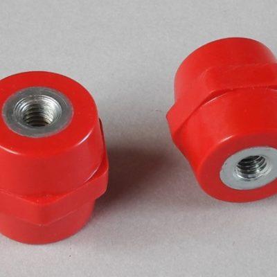 Isolateurs basse tension M8 hauteur 30mm