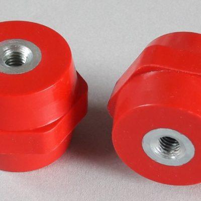 Isolateurs basse tension M8 hauteur 35mm