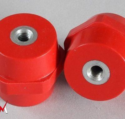 Isolateurs basse tension M8 hauteur 45mm