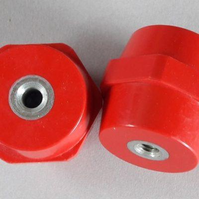 Isolateur basse et moyenne tension M8 hauteur 40mm