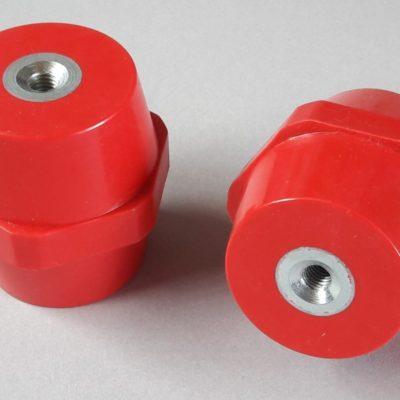 Isolateurs basse tension M8 hauteur 60mm