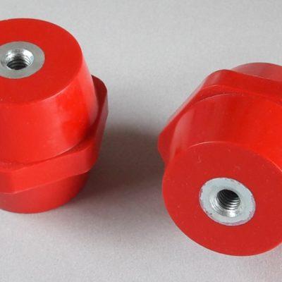 Isolateurs basse tension M8 hauteur 50mm