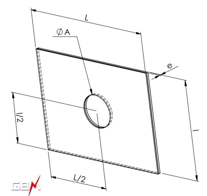 plaque bimétallique fiche technique