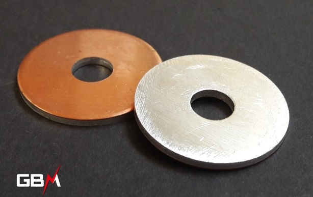 rondelles bimétalliques cuivre aluminium visserie M8