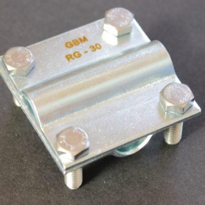 Raccords de croissement en acier galvanisé à froid pour conducteur 30x2
