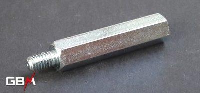 entretoises métalliques M6 hauteur 40 mm