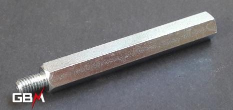 entretoises métalliques M6 hauteur 70 mm