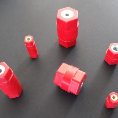 Isolateurs colonne basse tension (Femelle/Femelle)